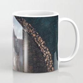 Portal to the Castle-Surreal Collage Coffee Mug
