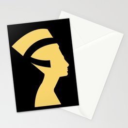 -BEQUEEN IN GOLD Stationery Cards