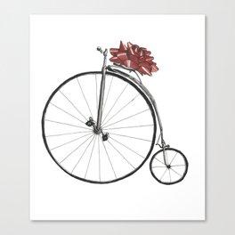 Christmas Bicycle Canvas Print