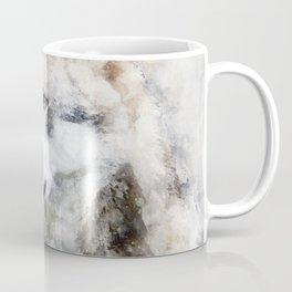 Watercolour grey wolf portrait Coffee Mug
