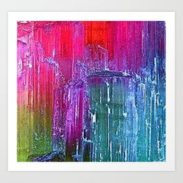 Bicolor Tourmaline Art Print