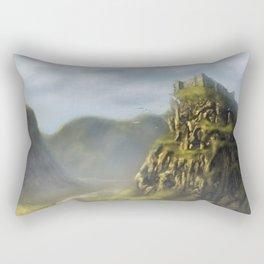 Castle Moat Rectangular Pillow
