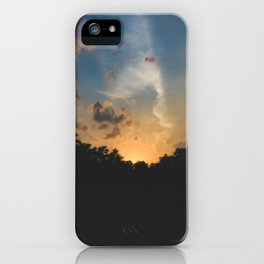 Another Texas Hill Country Sunset iPhone Case