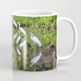 Egrets And Ibis Coffee Mug