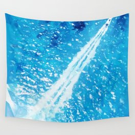 Above the sea Wall Tapestry