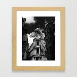Gringotts Bank Framed Art Print