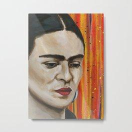 Frida in Colorland Metal Print