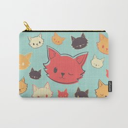 Kitty Wink Carry-All Pouch