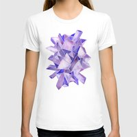 geode T-shirts featuring Amethyst Watercolor by Cat Coquillette