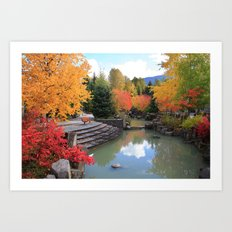 Fall in Whistler Art Print