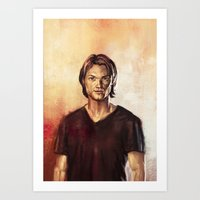 sam winchester Art Prints featuring Sam Winchester by Lena