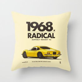 1968 Throw Pillow