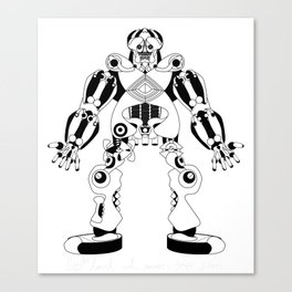 Jaeger //: Hit Me Canvas Print