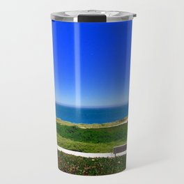 Park by the Ocean Travel Mug