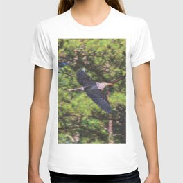 Heron Midflight T-shirt