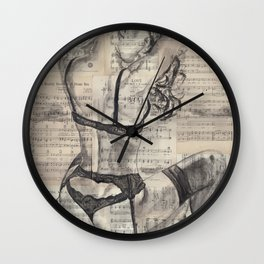 Passionfruit Wall Clock