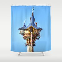 blondie Shower Curtains featuring You Comin' Blondie? by Brianna Arce