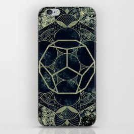 Sacred Geometry for your daily life -  Platonic Solids - ETHER iPhone Skin