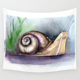Snail Wall Tapestry