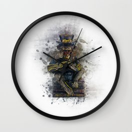 Steampunk Monkey Wall Clock