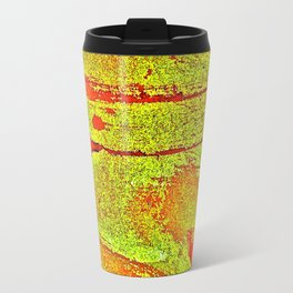 Bloody-Nature Abstract Travel Mug