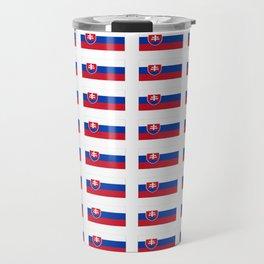 flag of slovakia -,Slovak,Slovensko,Eslovaquia,eslovaco, Czechoslovakia, Bratislava, Košice Travel Mug
