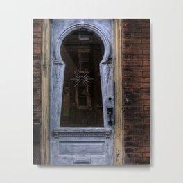 keyhole door. Metal Print