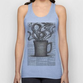 Cupfull of Happy Unisex Tank Top