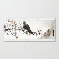 china Canvas Prints featuring China by OSCAR GBP