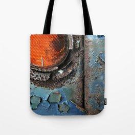 caution {deconstruction series Tote Bag