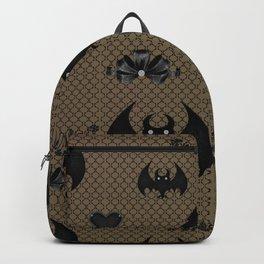 Funny bat pattern Backpack