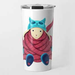 Very long Scarf Travel Mug
