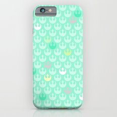 Rebel Alliance on Mint in Pastels Slim Case iPhone 6s