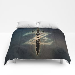 A Warrior symbol Comforters