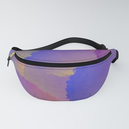 Purple Nuclear Fusion Fanny Pack