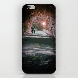Walking Home iPhone Skin