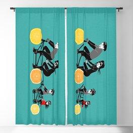 Family bikes Blackout Curtain