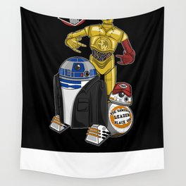 Beastie Droids Wall Tapestry