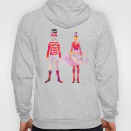 Nutcracker Ballet - Candy Cane Green Hoody