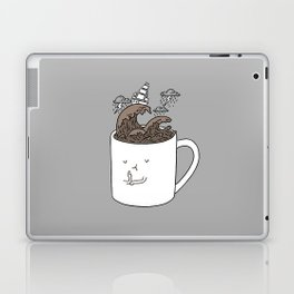 Brainstorming Coffee Mug Laptop & iPad Skin
