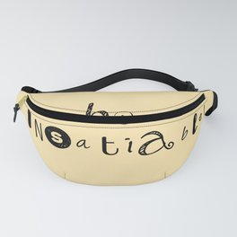 insatiable! y. Fanny Pack