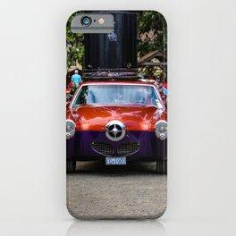 heritage show - orange and purple iPhone Case