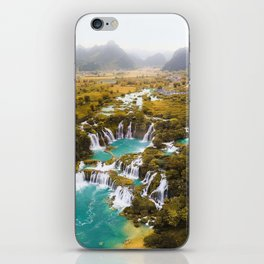 China's Waterfalls iPhone Skin
