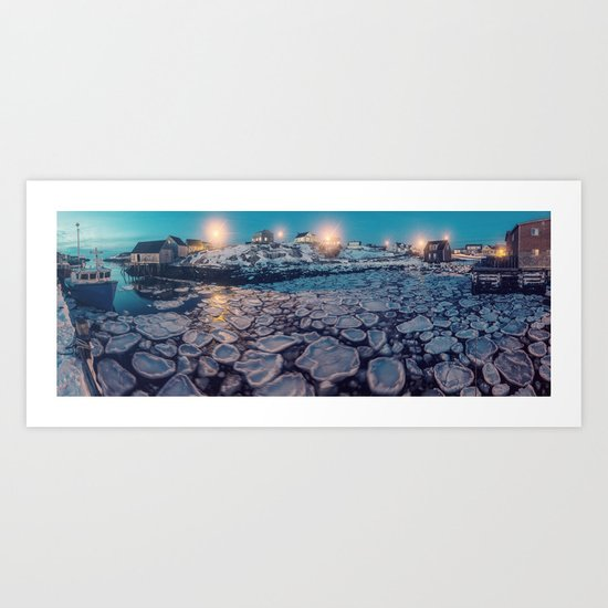 Cakes in the Cove Art Print
