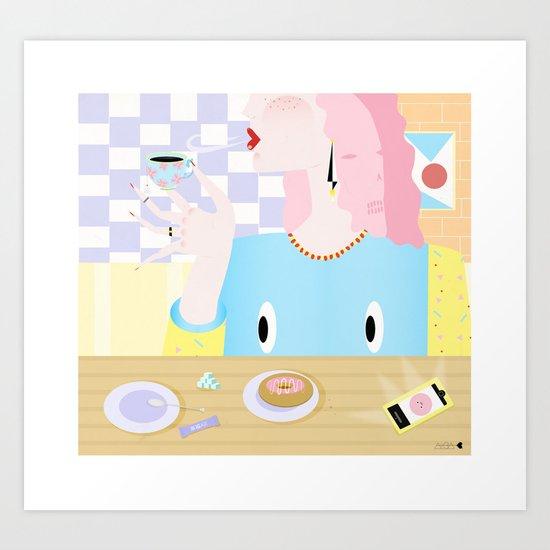 sugar babe Art Print
