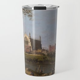 Eton College Chapel by Canaletto Travel Mug