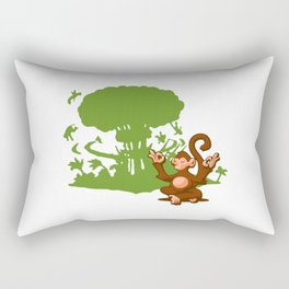 Apathetic in the Face of Certain Annihilation Rectangular Pillow