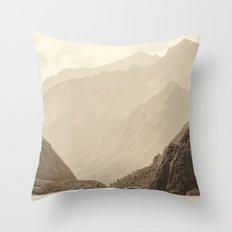 Mountains #7 Throw Pillow