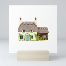 Thatched Cottage Mini Art Print