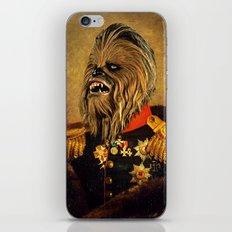Portrait of Master Chewie iPhone & iPod Skin